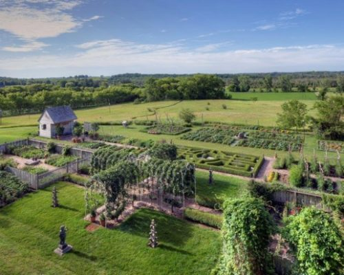 Kelton House Farm: a view from above.