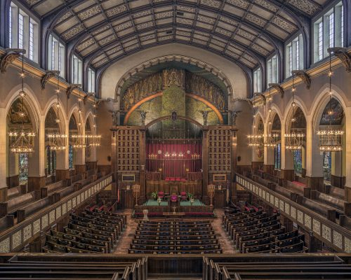 A photo of the sanctuary taken by James Caulfield.