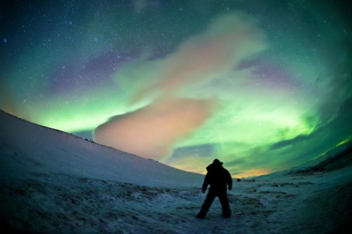 Witness the Northern Lights, where the dark night sky appears transformed into a watercolor painting, changing shape and moving in front of your eyes. Many local people, who remain silent in the presence of the Aurora Borealis, believe the lights are the souls of their ancestors dancing in the sky.