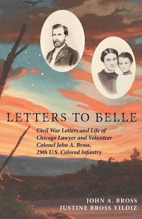 Title of the book cover 'Letters to Belle'