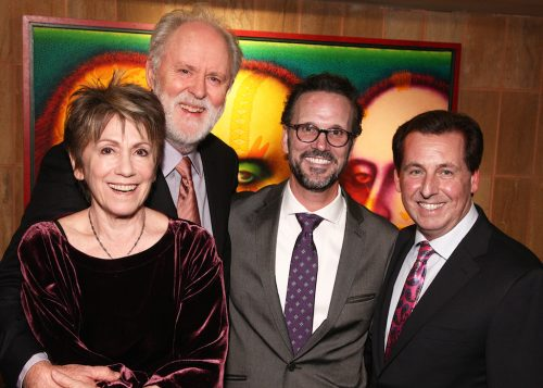 John Lithgow with the Shakespeare Theater leadership