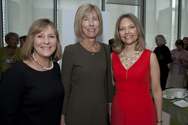 Randi Brooklier (Wilmette), Barbara Speer (Winnetka), and Nancy Santi (Winnetka).