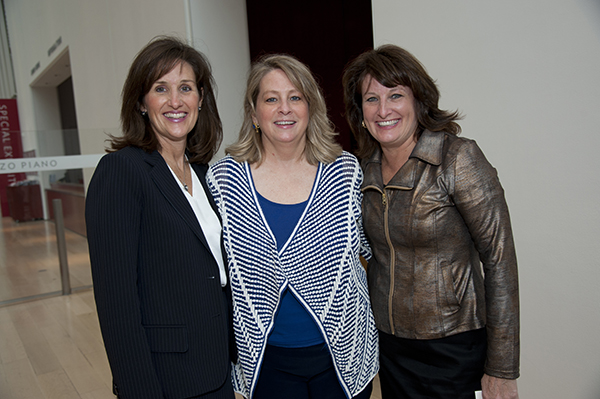 Suzanne Mulshine, Kassy Helme, and Mary-Carol Puntillo.