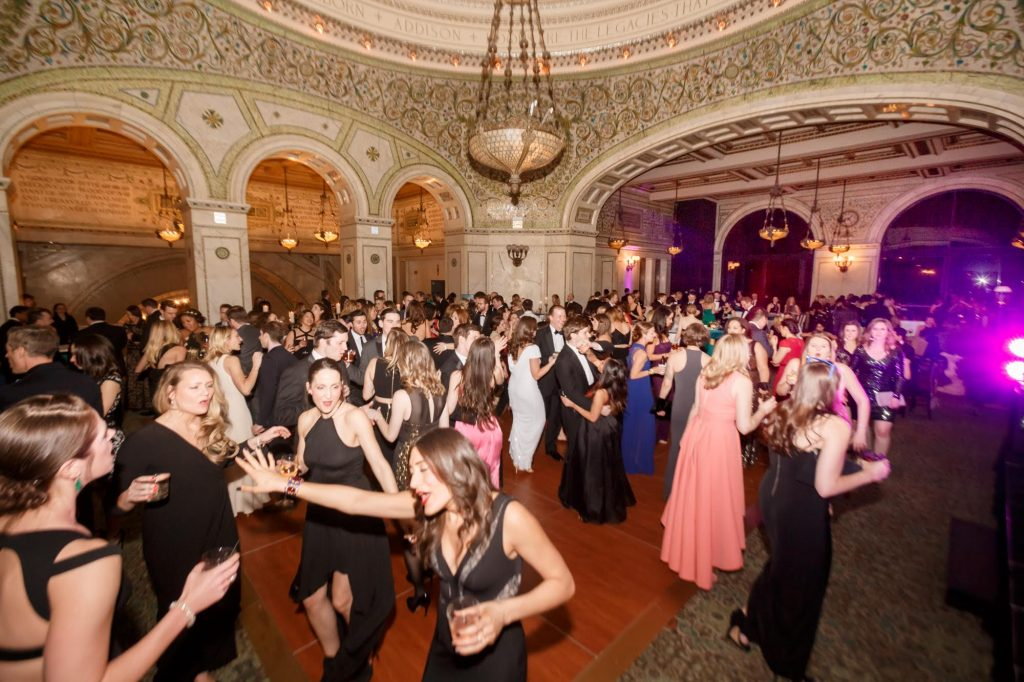 The Junior League of Chicago's Annual Gala in full swing at the Chicago Cultural Center.