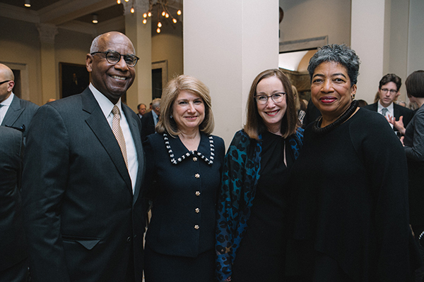 Bill Ruffin, Joan Wagner, Laura de Frise, and Emmie Ruffin.