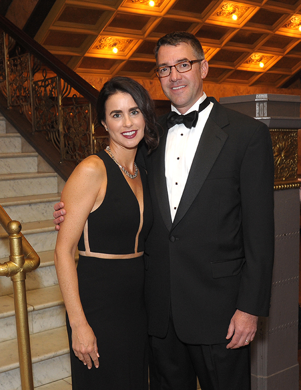 Gala co-chairs Annie and Dr. Kristopher Atzeff.