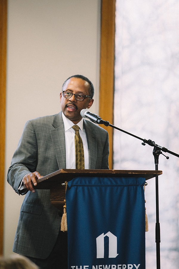 Earl Lewis, President of The Andrew W. Mellon Foundation, shares a few words.