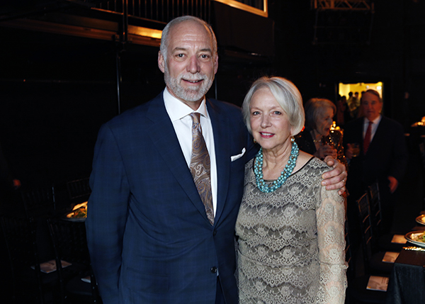 Chicago Shakespeare Board Member Kevin R. Evanich and his wife Joan.
