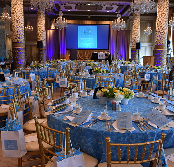 The Ryan Licht Sang Bipolar Foundation Medical Briefing Luncheon in the Gold Coast Ballroom of the Drake Hotel.