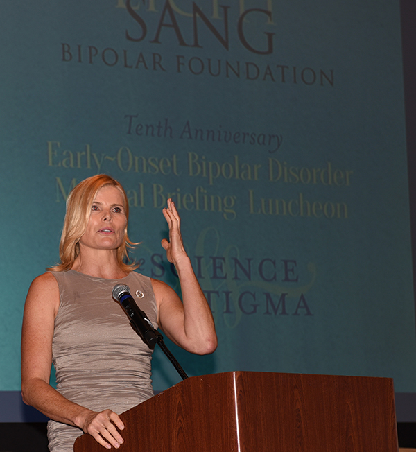 Mariel Hemingway captivated the room with her personal speech.