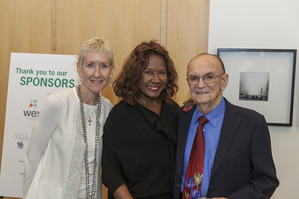 Dr. Joanne Smith (President and CEO of RIC), Dori Wilson, and Ron Katz.
