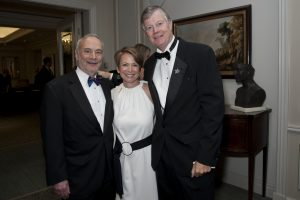 Clearbrook president Carl M. La Mell with with Clearbrook Chairman of the Board Frank ten Brink and Jeannine Cleary (1)