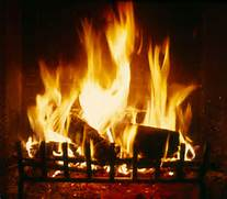 Leiter fireplace