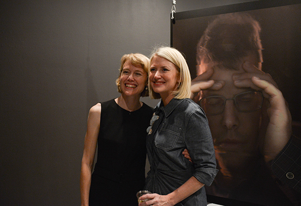 Dolly Geary and Suzette: sisters who share a love of art – Dolly is the director of the Geary Gallery in New York.