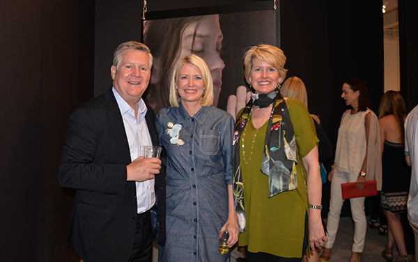 Suzette with Kellie and Dennis Welsh.