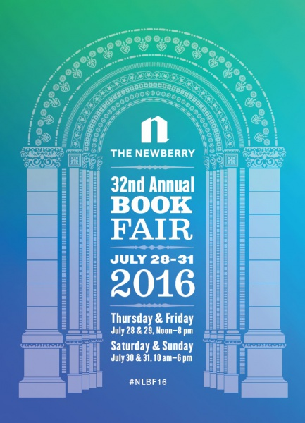 The beautifully serene poster for this year's Book Fair.