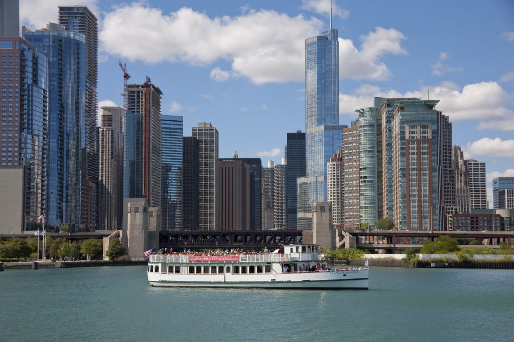 Stunning views (photo credit: The Chicago Architecture Foundation).