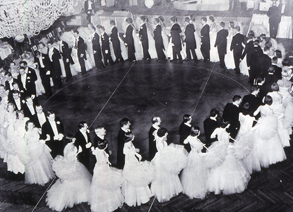 The Passavant Cotillion and Christmas Ball, 1949, from the collection of The Northwestern Memorial Hospital Woman's Board