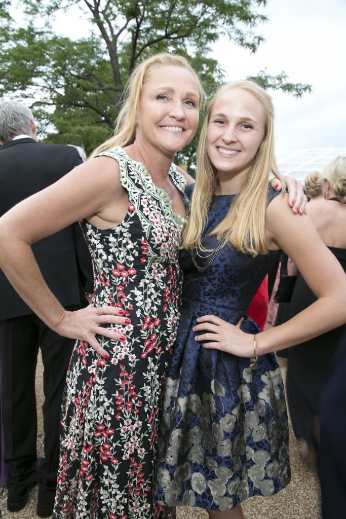 Denise Ashurst, Women's Board Member, and Emma Ashurst (Winnetka).