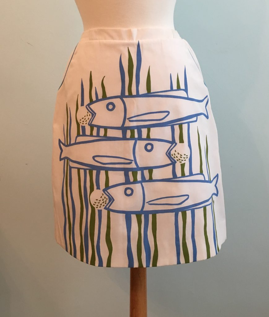 Vested Gentress golf skirt from the Pro-Line collection. Collection of Ladybug Vintage.