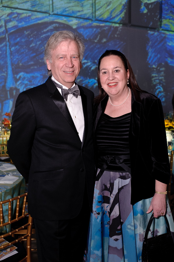OMS President Laura de Frise (right) with her husband, Steven Rugo.