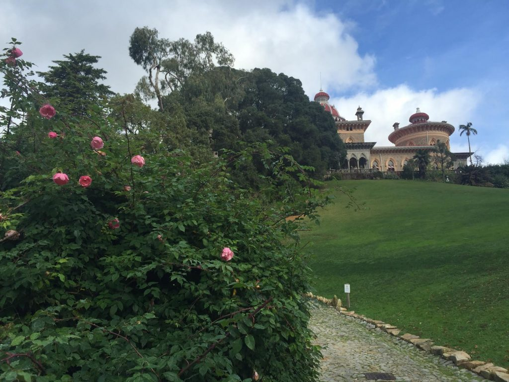 Palacio Monserrate, where Elise loved to watch the December roses bloom.