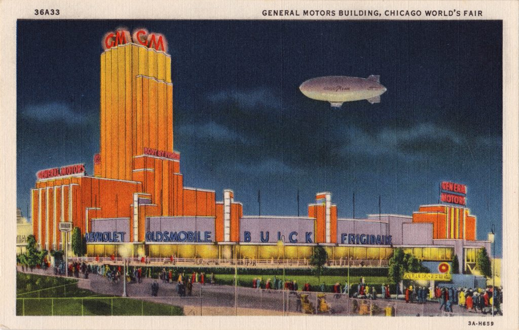 The General Motors Building.