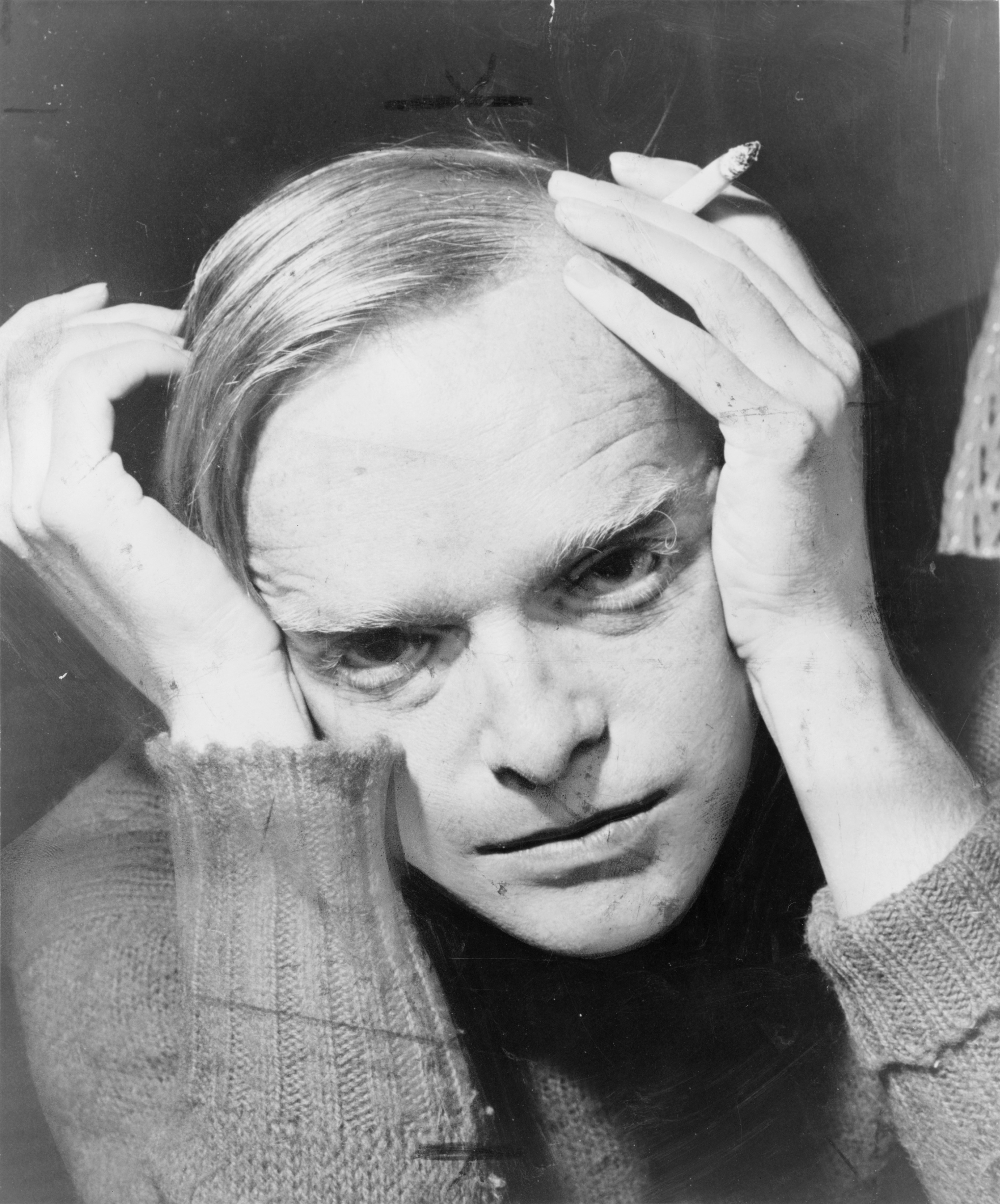Author and provocateur, Truman Capote, photographed by Robert Higgins in 1959.