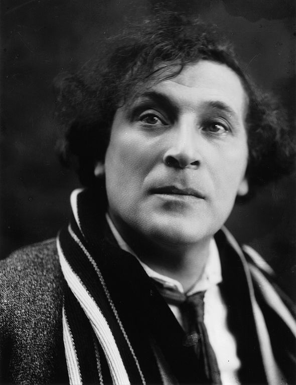 Marc Chagall by Pierre Choumoff (c. 1920).