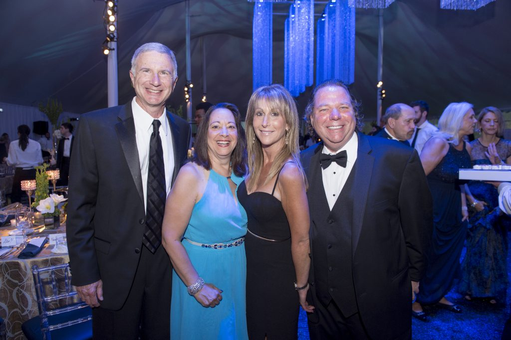 Steven and Toria Stender with Wendy Gleiser and Michael Slotky.