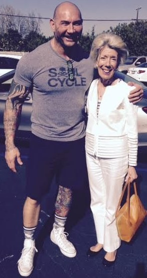 Me and my new friend, Spectre's Dave Bautista.
