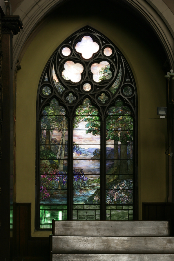 Tiffany Pastoral Window, photographed by Martin Cheung.
