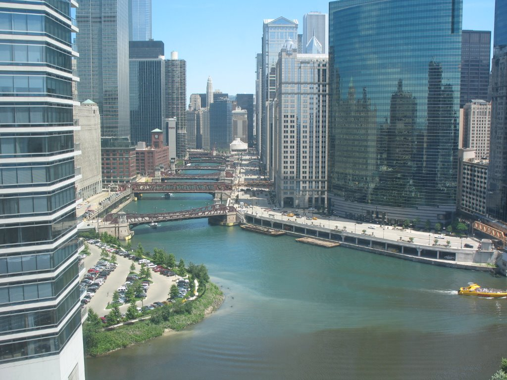 Meeting of the waters at Wolf Point.