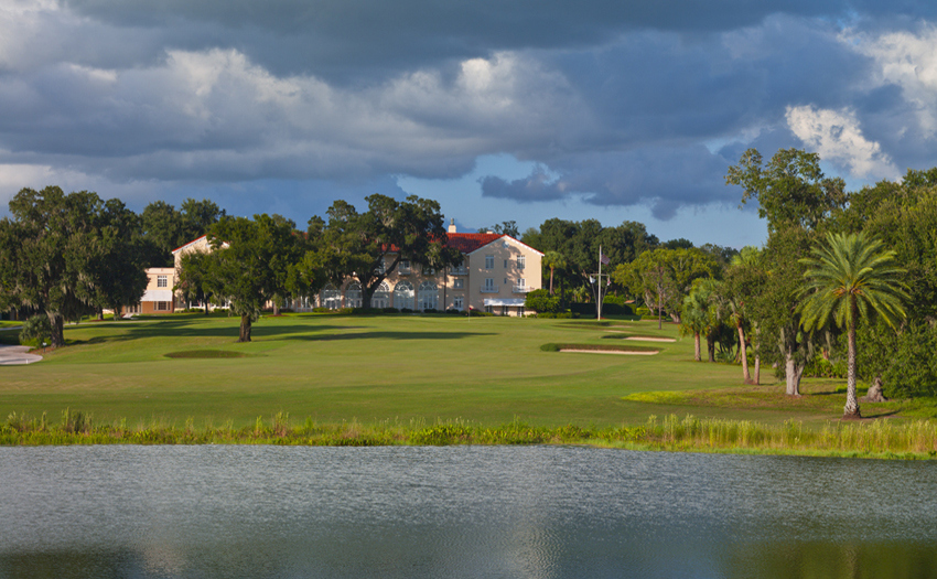 Private golf community in central Florida