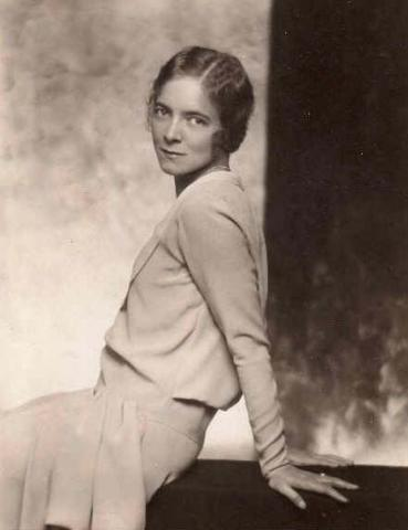 Legendary actress, and Hayes' great aunt, Helen Hayes.