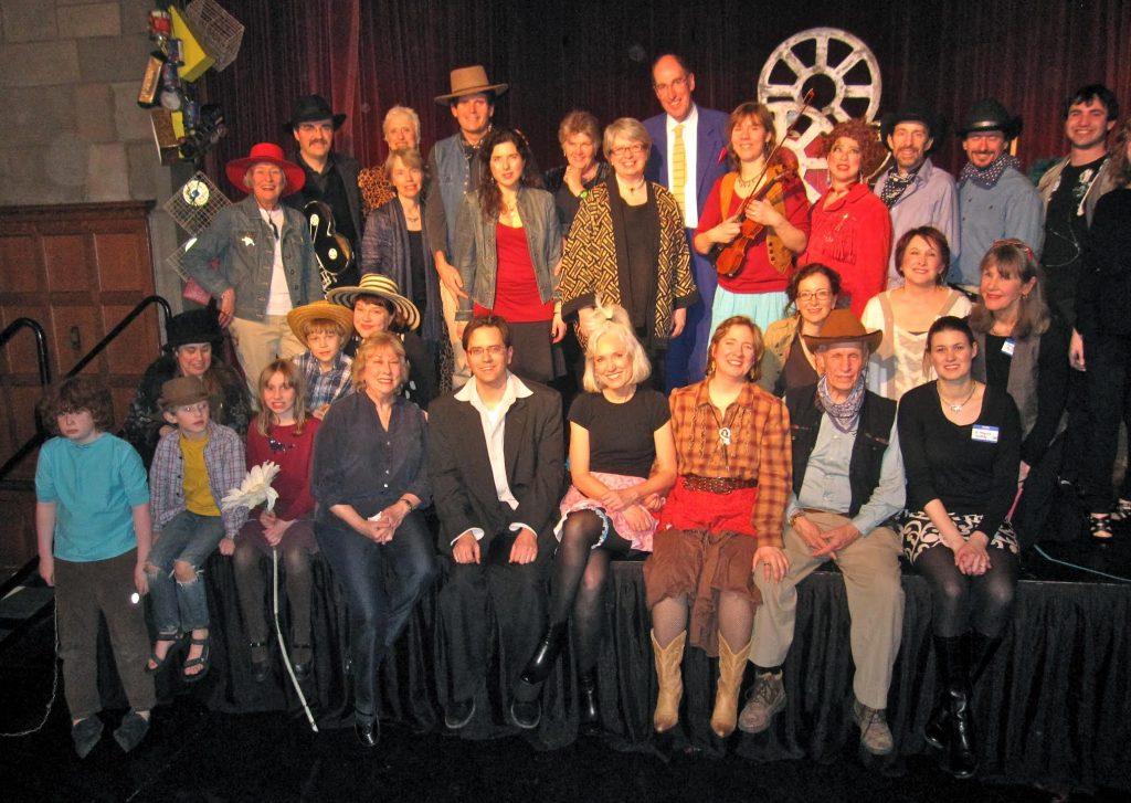 The cast of the Ballad of Scavenger Gulch, a previous performance.