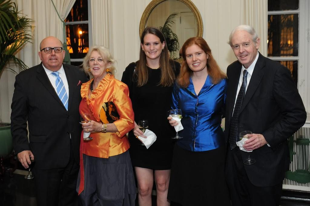 From left: James Staples, Susie Kealy, Annie Hambleton, Emily, and her father Chris Nielsen.