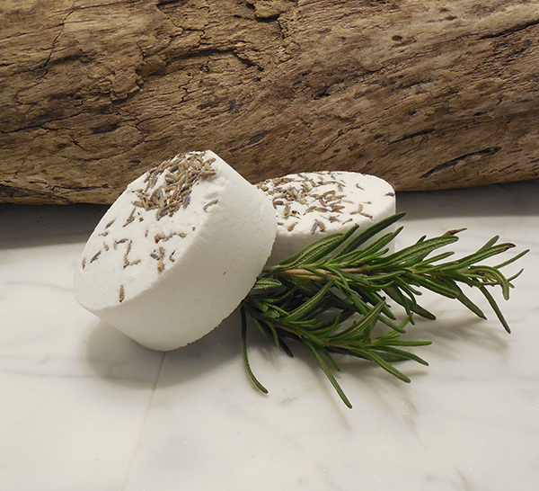 Sutton on Hudson Lavender and Rosemary Bath Bombs.