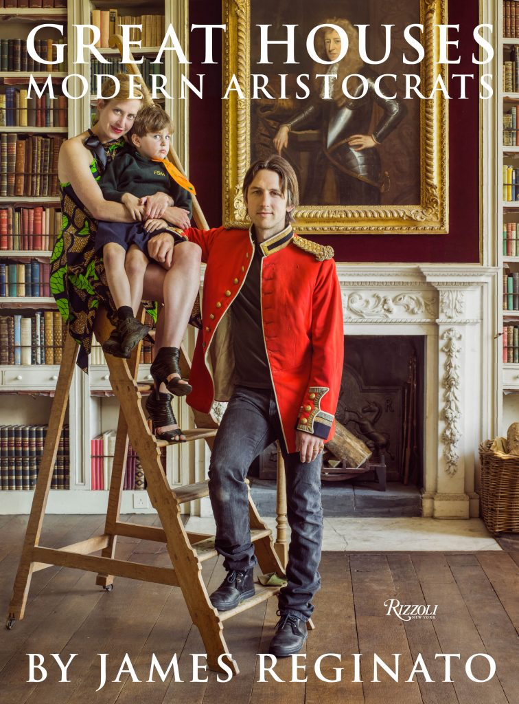 The splendid cover of Great Houses, Modern Aristocrats. Photo courtesy of Rizzoli.