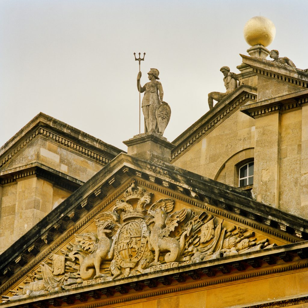 Rooftop statuary striking an elegant pose against the sky. Photo courtesy of Rizzoli.