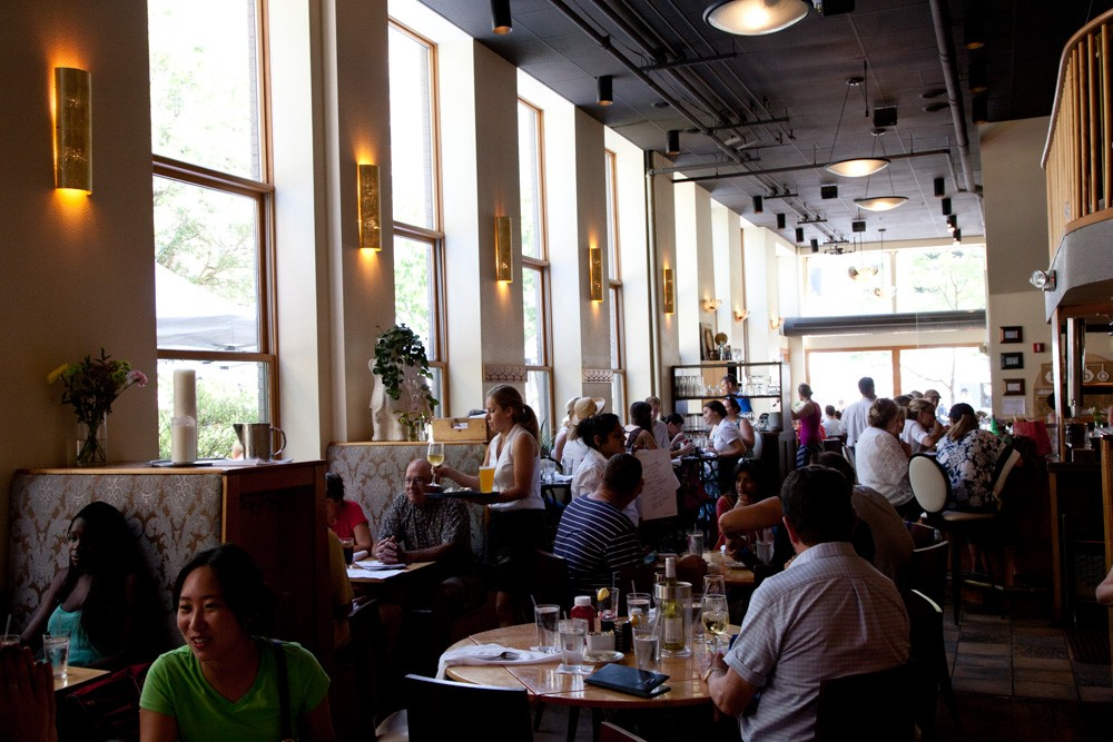 Sava's: a great location and an even better brunch.