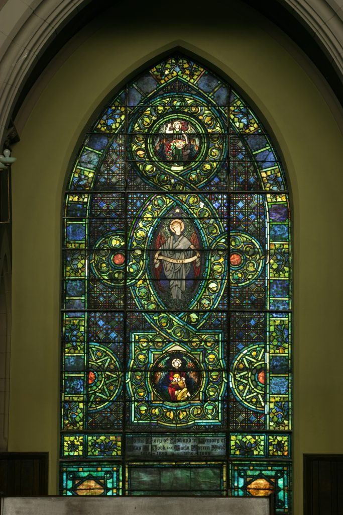 The Peace Window, photographed by Martin Cheung.