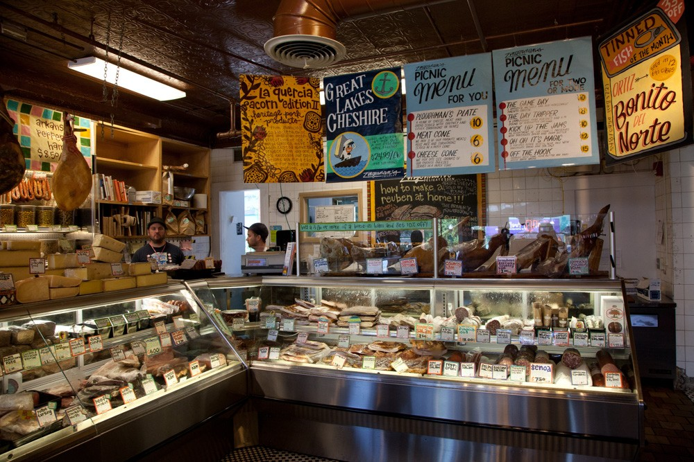 I challenge you to buy just one thing: this is deli paradise!