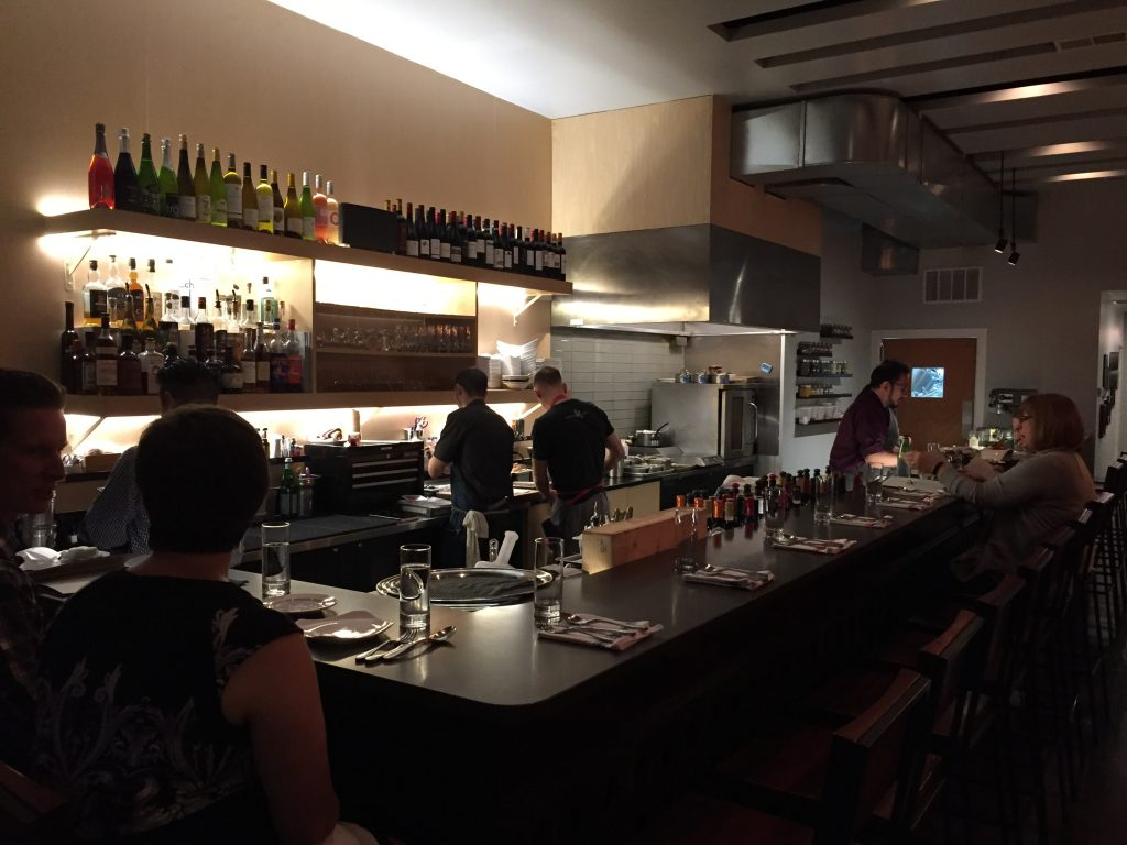 Ampersand Wine Bar.
