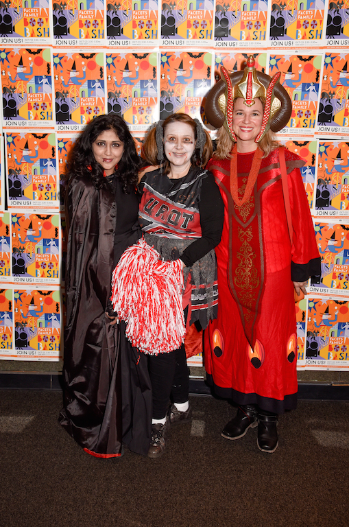 BOO! Bash Co-Chairs Armeen Siddiqui-Mirza, Victoria York, and Kelly Kaiser.