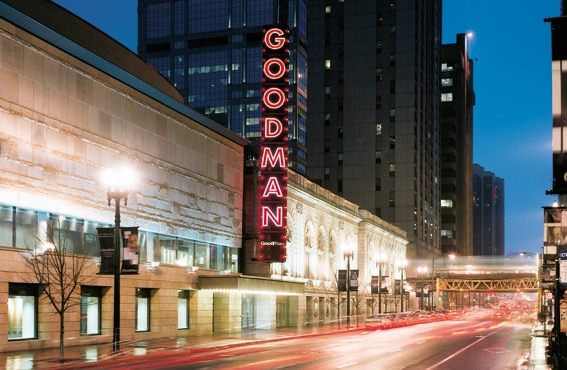 The Goodman. Courtesy of the Goodman Theatre.