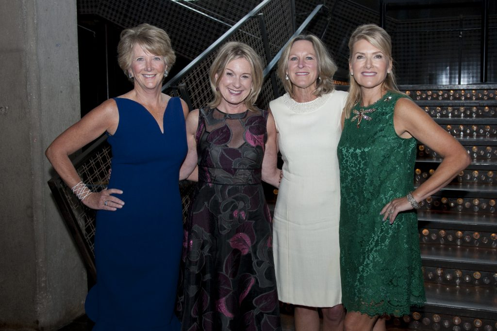 Kathleen Cowie (Kenilworth), Liz Warnock (Winnetka), Julie Allen (Chicago), Clea Costa Van Voorhis (Chicago).