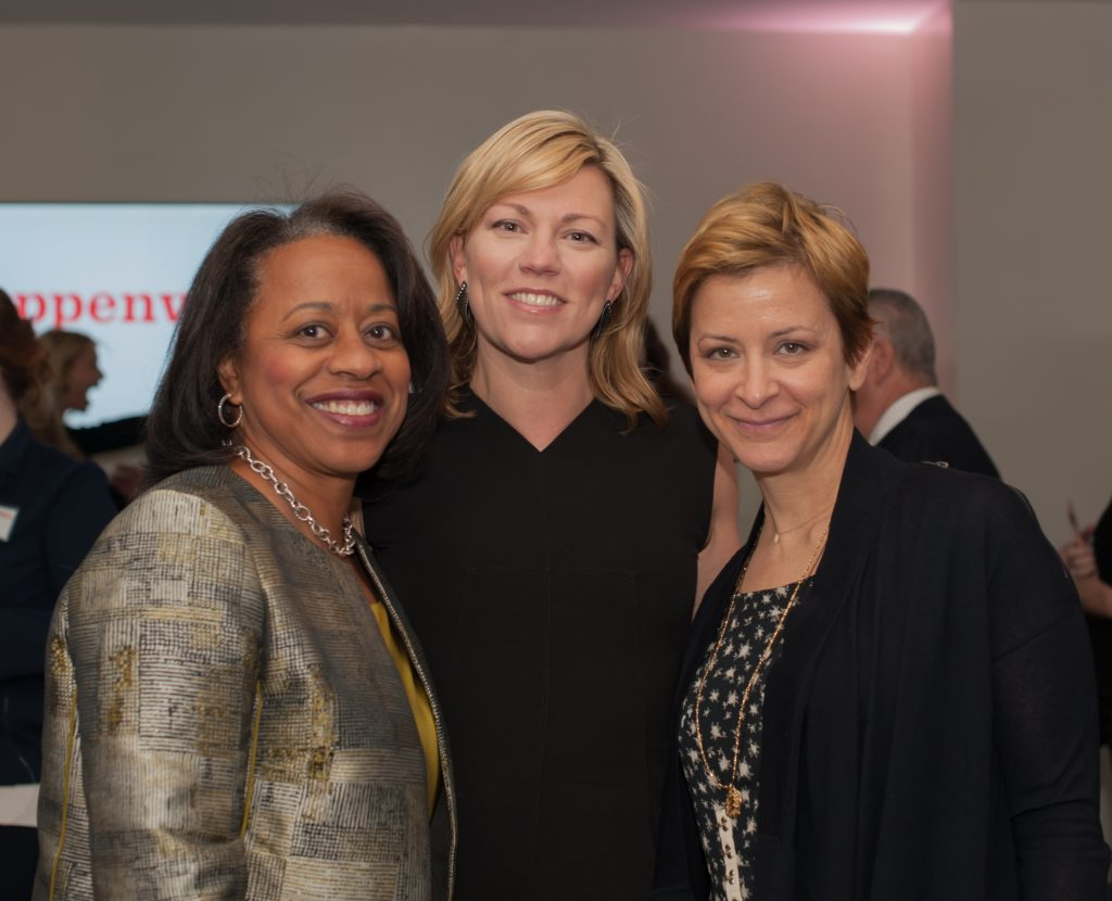 Stephanie Smith, Nora Daley, Anna Shapiro at a recent Steppenwolf luncheon.jpg