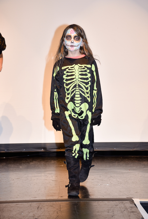 Virginia Senior-Kennepohl in the BOO! Bash Costume Contest.