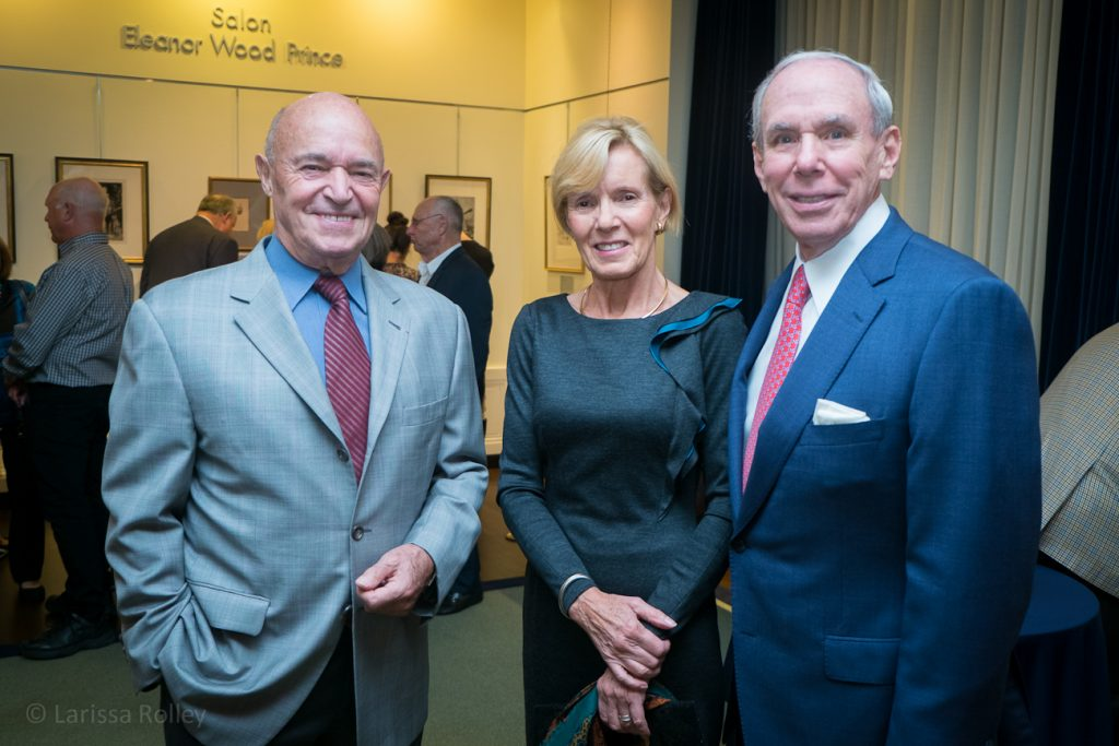 Jean-Pierre Ergas, Honorary Gala Chair, with Annie Ergas (Honorary Co-Chair) and Dale Pinkert.